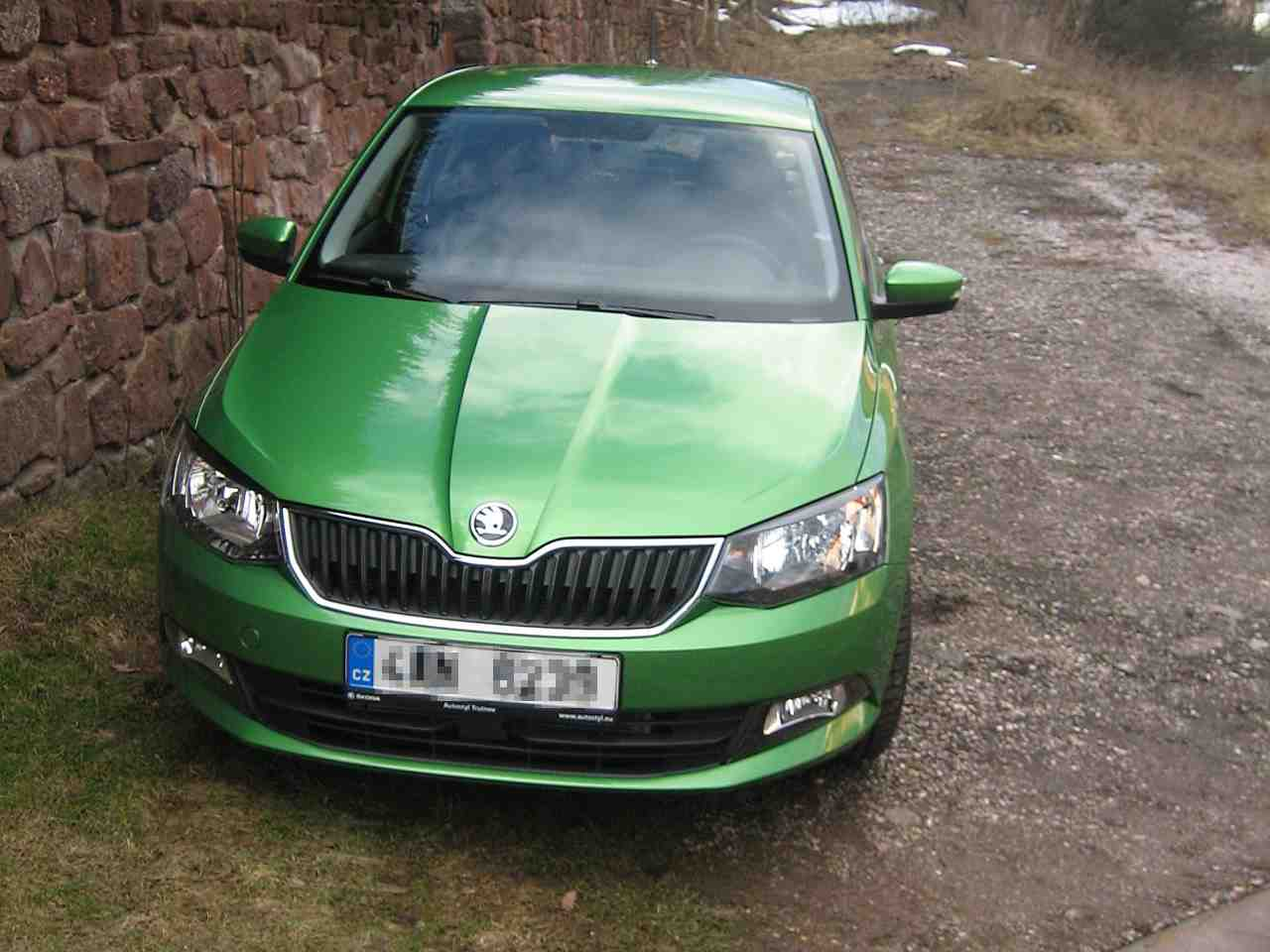 Škoda Fabia aka Mr. Froggy